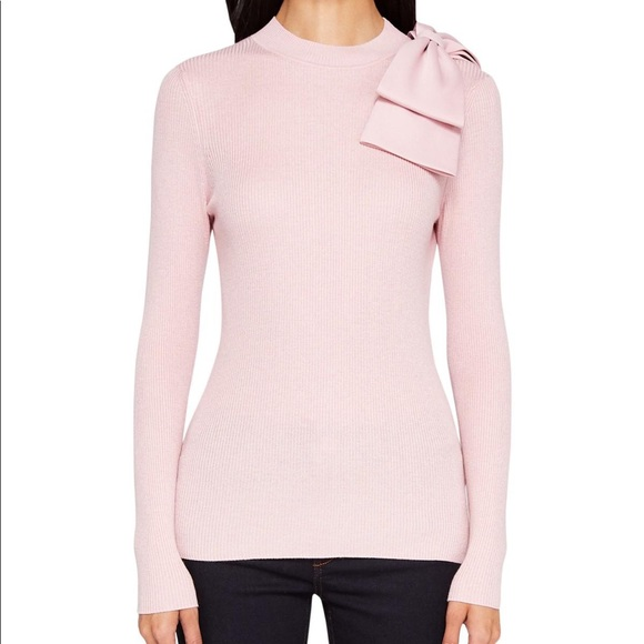 39325dd579f3de NWT Ted Baker London Pink Sweater